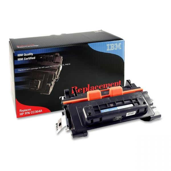 IBM Remanufactured HP CC364A Black Toner Cartridge