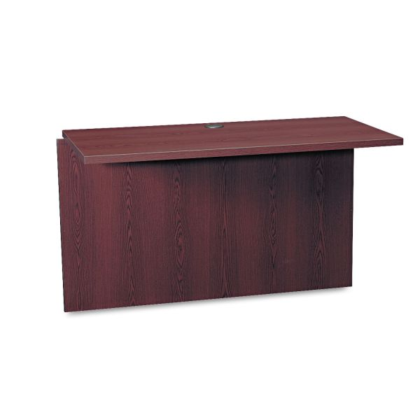 HON 10500 Series Bridge, 47w x 24d x 29-1/2h, Mahogany