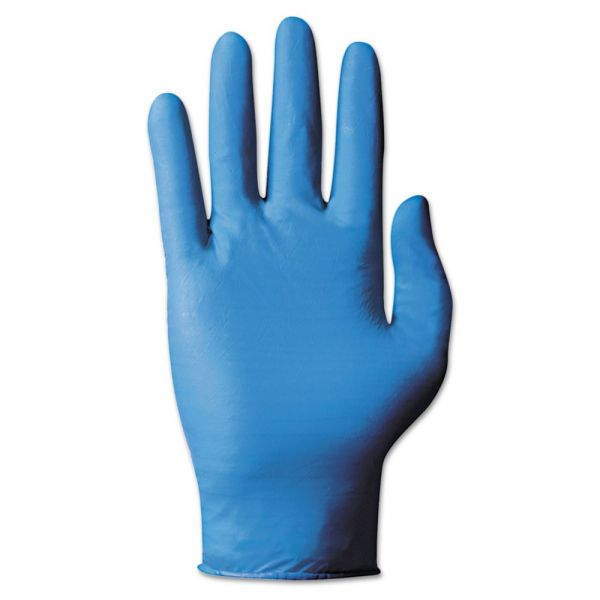 AnsellPro TNT Blue Single-Use Gloves, Large