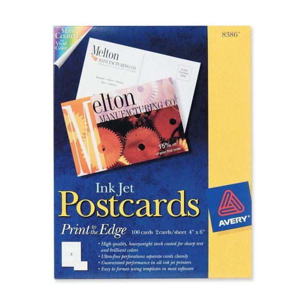 Avery 8386 Postcards