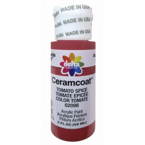 Ceramcoat Tomato Spice Acrylic Paint