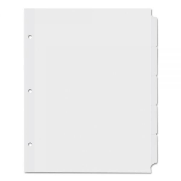 Universal Economy Tab Index Dividers