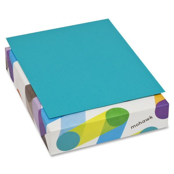 Mohawk Brite-Hue Colored Paper - Sea Blue