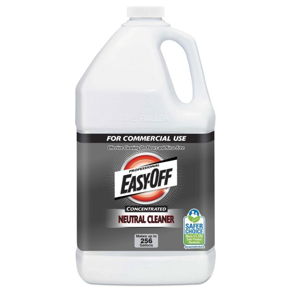 Professional EASY-OFF Concentrated Neutral Cleaner, 1 gal bottle 2/Carton