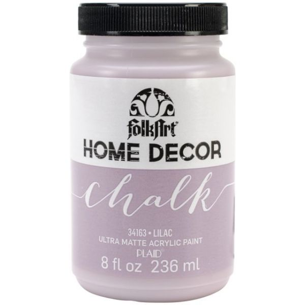 FolkArt Home Decor Lilac Chalk Paint