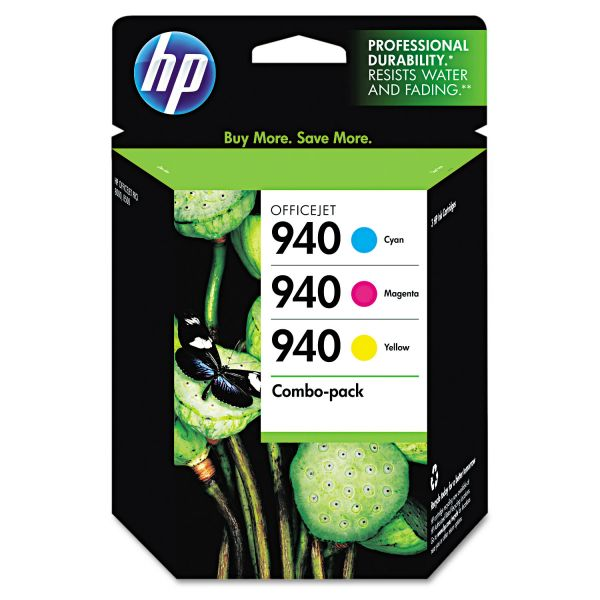HP 940 Combo Pack Ink Cartridges (CN065FN)