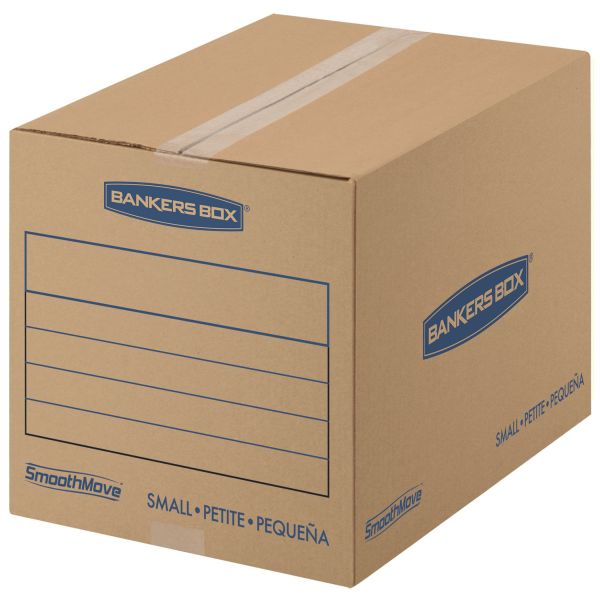 Bankers Box SmoothMove Basic Corrugated Moving/Shipping Boxes