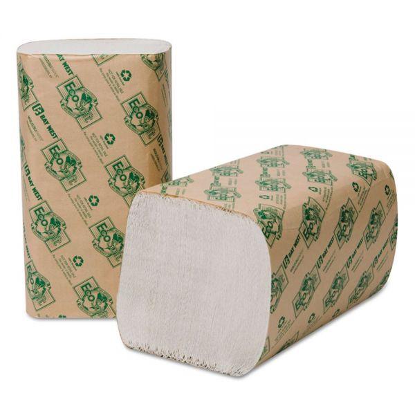 EcoSoft Singlefold Paper Towels
