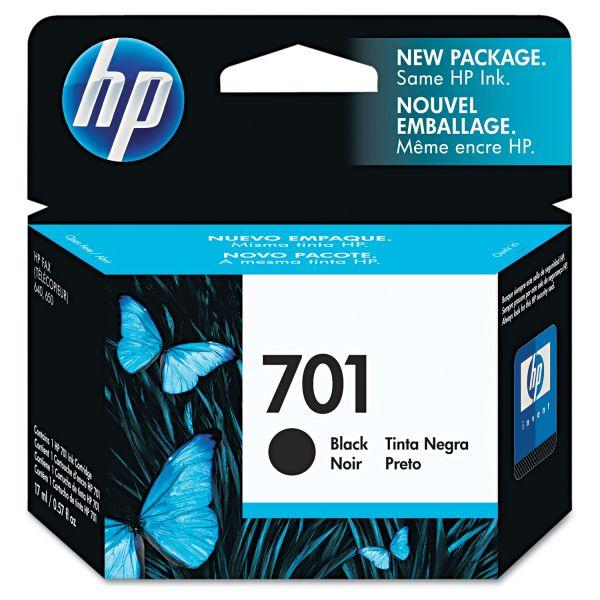 HP 701 Black Ink Cartridge (CC635A)