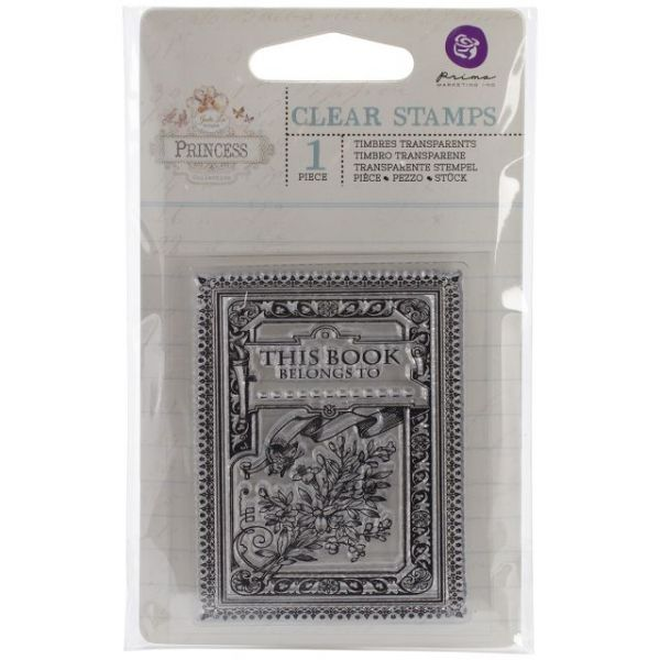 "Princess Clear Stamps 2.5""X3"""