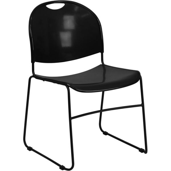 Flash Furniture HERCULES Series Big & Tall Ultra Compact Stacking Chair
