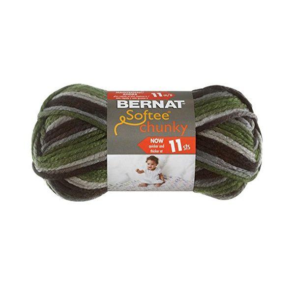 Bernat Softee Chunky Yarn - Dads Scarf