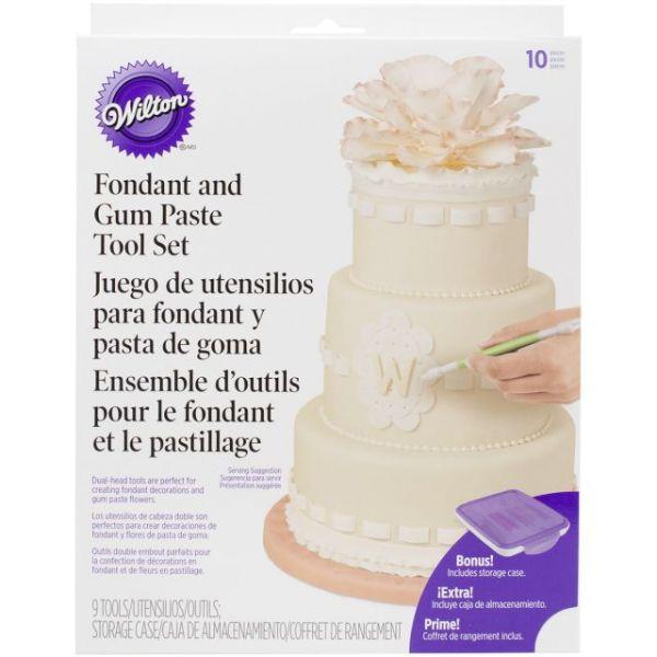 Fondant & Gum Paste Tool Set
