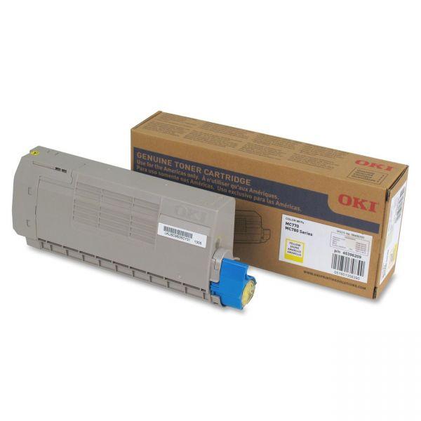 Oki 45396209 Yellow Toner Cartridge