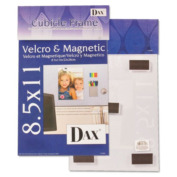 DAX Magnetic Cubicle Picture/Certificate Frame