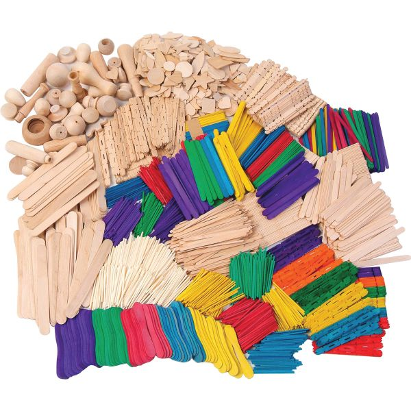 Creativity Street Wood Crafts Activities