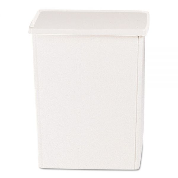 Rubbermaid Commercial Glutton Container, Rectangular, 56 gal, Off-White