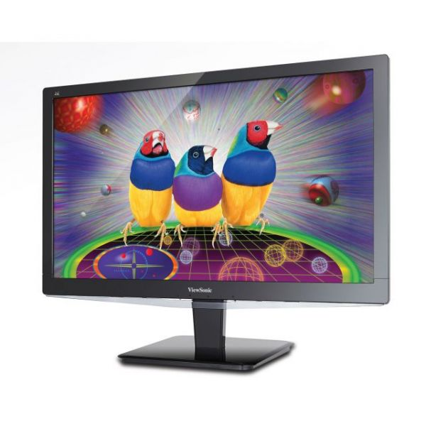 "Viewsonic VX2475Smhl-4K 24"" LED LCD Monitor - 16:9 - 3 ms"