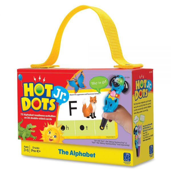 Hot Dots Jr. Card Set The Alphabet