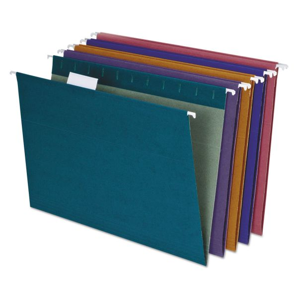 Pendaflex Earthwise Recycled Paper Color Hanging File Folders