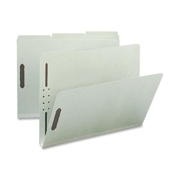 Nature Saver Pressboard File Folders With Fasteners