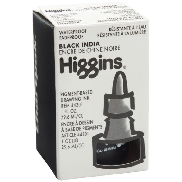 Higgins India Ink 1oz