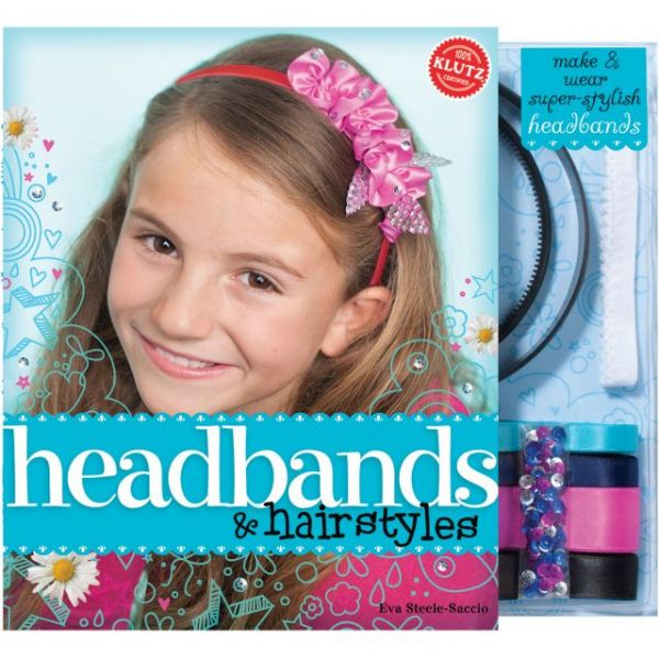 Headbands & Hairstyles Book Kit
