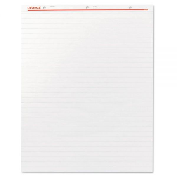 Universal Recycled Easel Pads, Faint Rule, 27 x 34, White, 50 Sheet 2/Carton