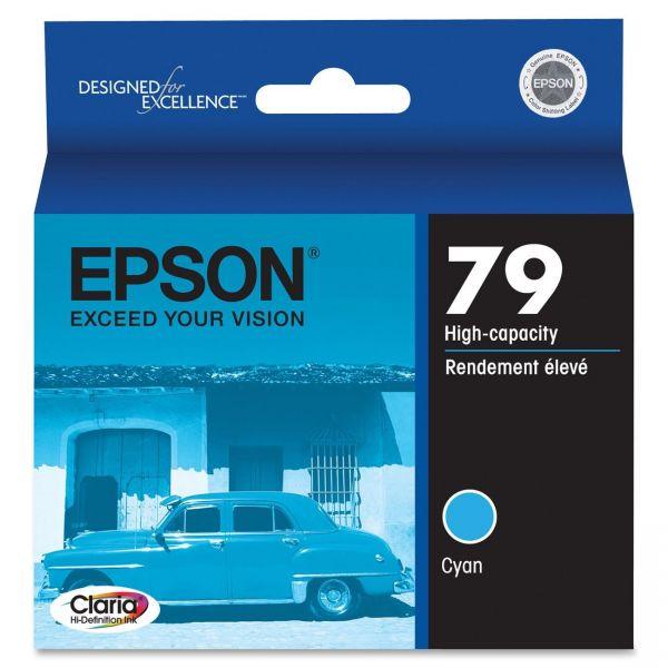 Epson 79 Cyan High-Capacity Ink Cartridge
