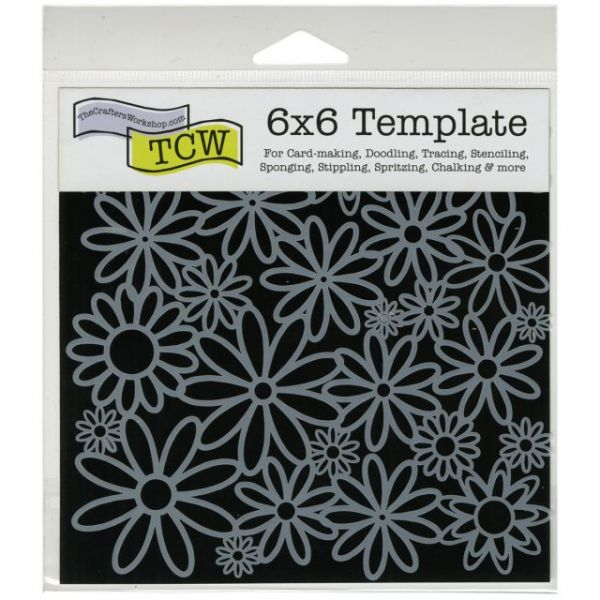 "Crafter's Workshop Template 6""X6"""