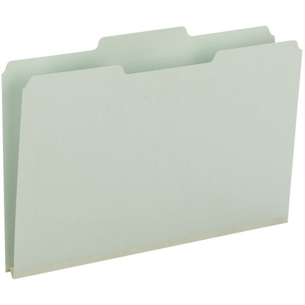 Smead 100% Recycled Pressboard File Folder 18500
