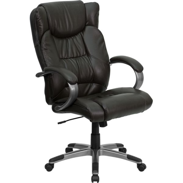 Flash Furniture High Back Executive Swivel Office Chair [BT-9088-BRN-GG]