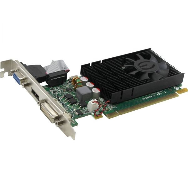 EVGA GeForce GT 730 Graphic Card - 700 MHz Core - 1 GB DDR3 SDRAM - Low-profile - Single Slot Space Required