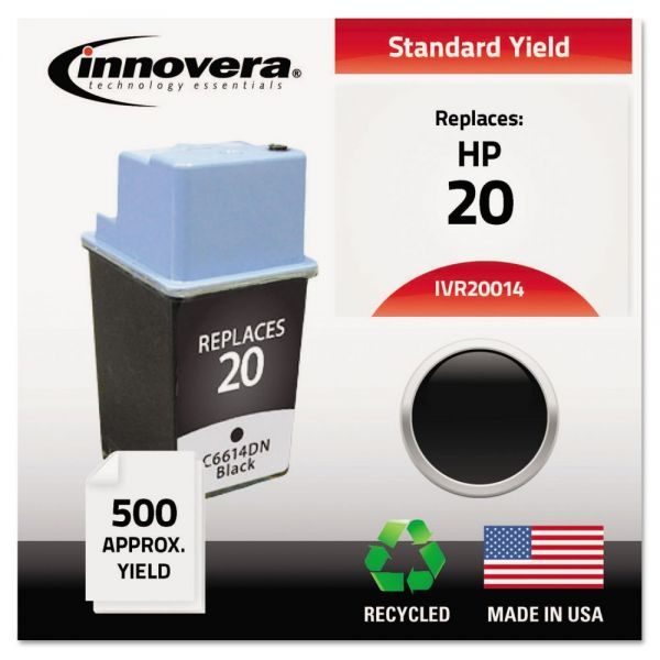 Innovera Remanufactured HP 20 (C6614DN) Ink Cartridge