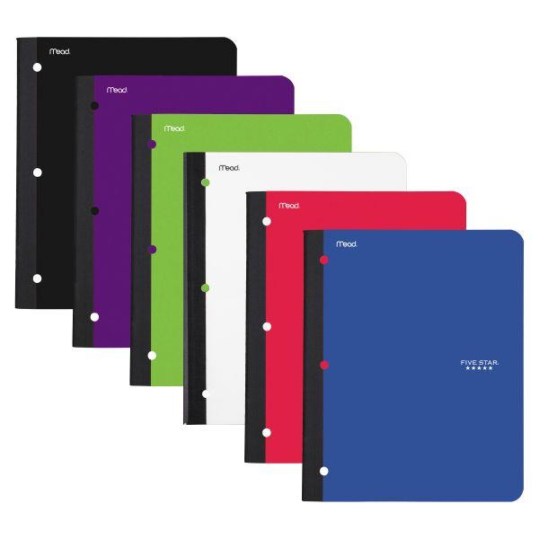 Five Star 1-Subject Wireless Notebook
