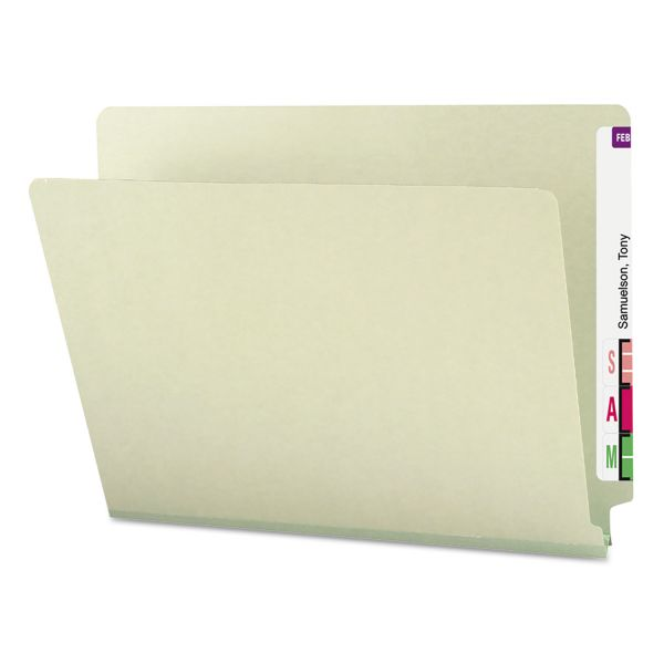 Smead Shelf-Master Letter Size End Tab File Folders