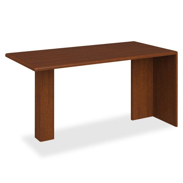 "HON 10700 Series Peninsula Desk with End Panel and Support Column | 60""W"