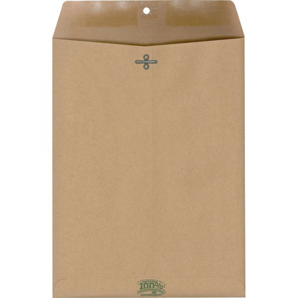Ampad Natural Brown Gummed Clasp Envelopes