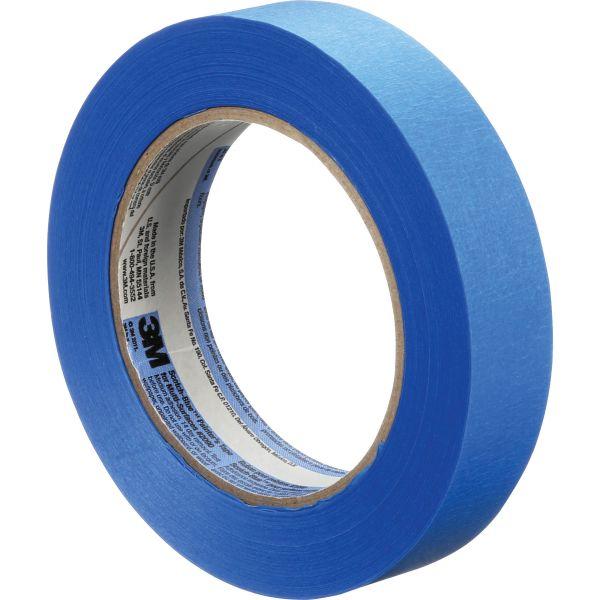 """ScotchBlue Painter's Tape, .94"""" x 60yds, 3"""" Core, Blue"""