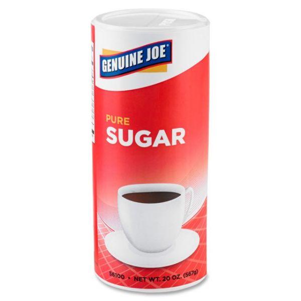 Genuine Joe 20 oz. Sugar Canister