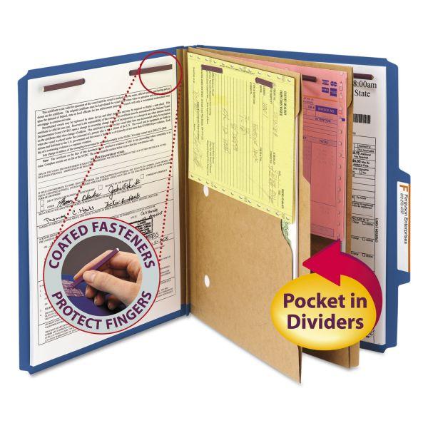 Smead Pressboard Classification Folders
