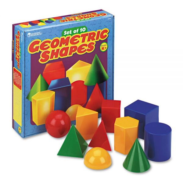 Learning Resources Large Geometric Shapes, for Grades K and Up