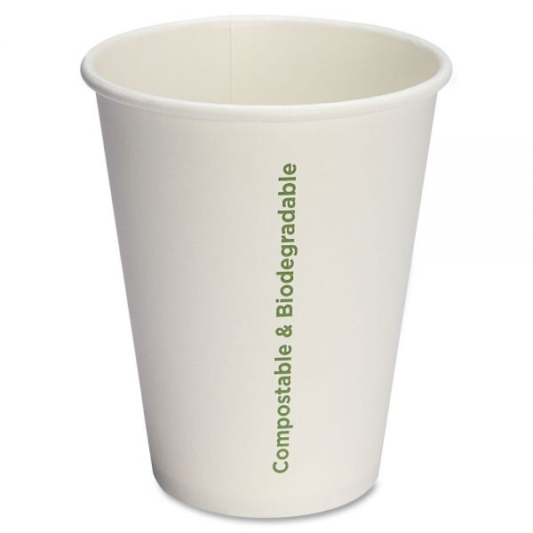 Genuine Joe Eco-friendly 12 oz Paper Coffee Cups