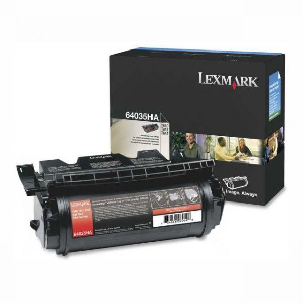 Lexmark 64035HA High Yield Black Toner Cartridge