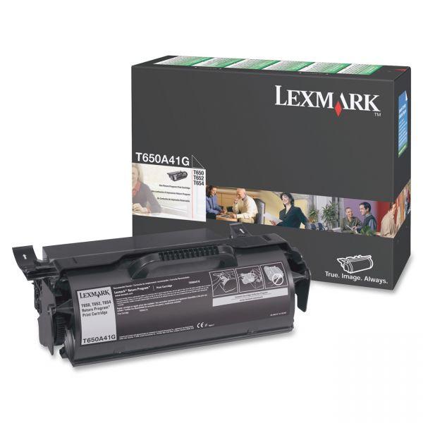 Lexmark T650A41G Return Program Black Toner Cartridge