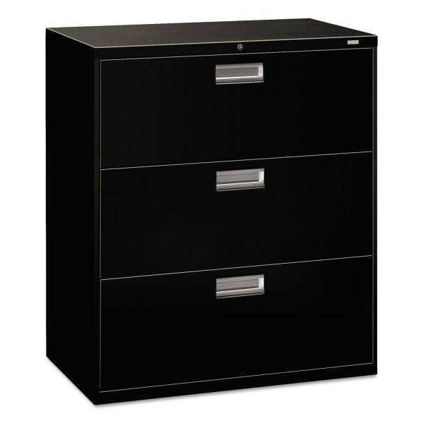 HON 600 Series 3 Drawer Lateral File Cabinet
