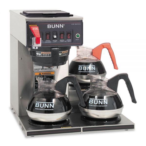 BUNN CWTF-3 Three-Burner Automatic Coffee Brewer