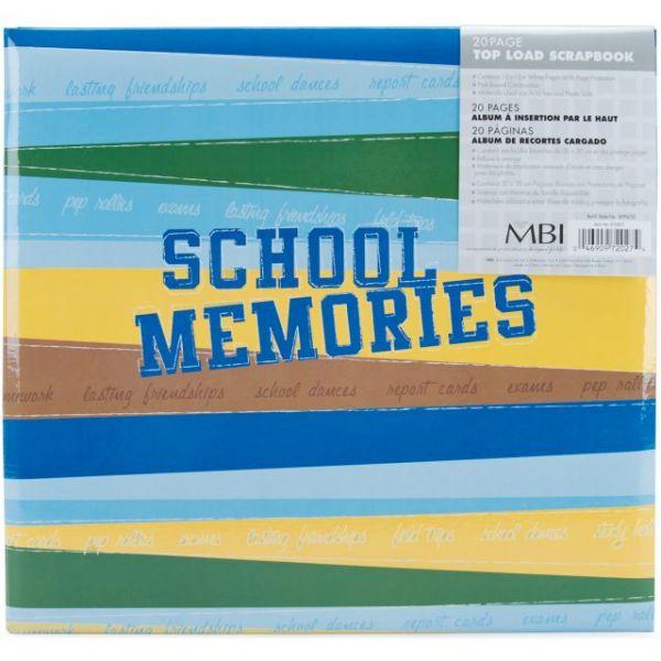 "School Memories Post Bound Album 12""X12"""
