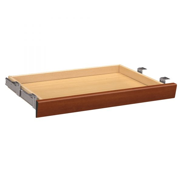 HON Laminate Angled Center Drawer, 26w x 15 3/8d x 2 1/2h, Cognac