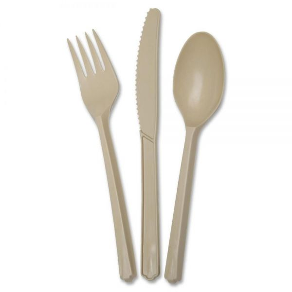 Skilcraft Biobased Cutlery Sets: Spoons, Knives, and Forks